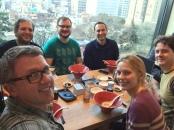 Team Global selfie